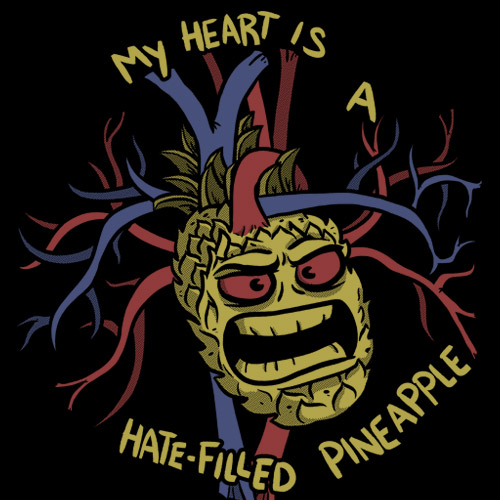 sharksplode-t-shirt-my-heart-is-a-hate-filled-pineapple-thumb