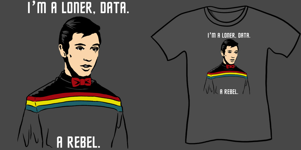 Wesley's Big Adventure T-Shirt, Wil Wheaton T-Shirt, Star Trek Parody shirts, Pee Wee Herman, bow tie, geek shirts, nerdy shirts, sci-fi