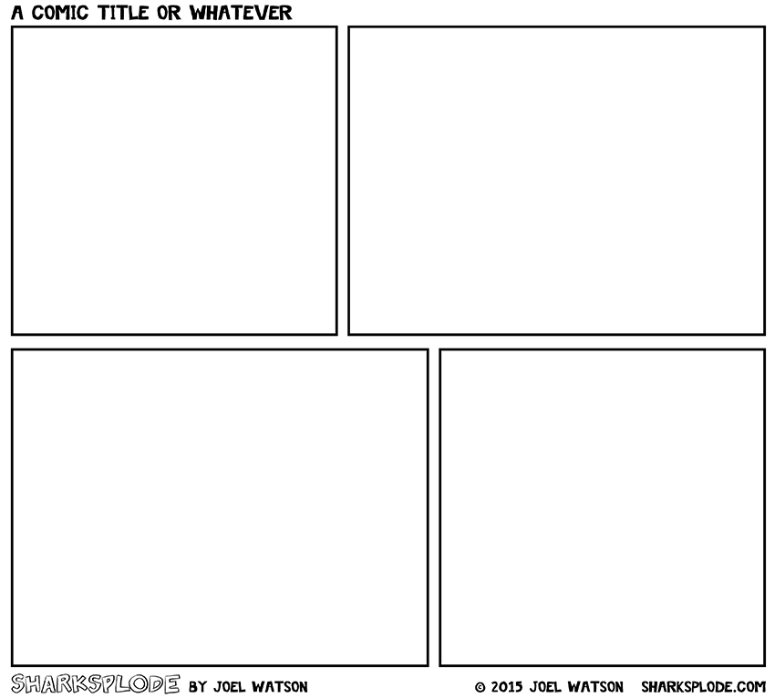 sharksplode-comic-template-2015-(2-rows)-850px